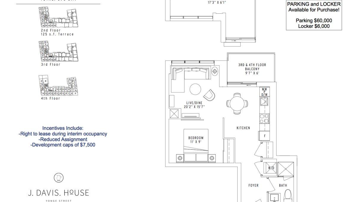 JDAVIS 540 One Bed 020418