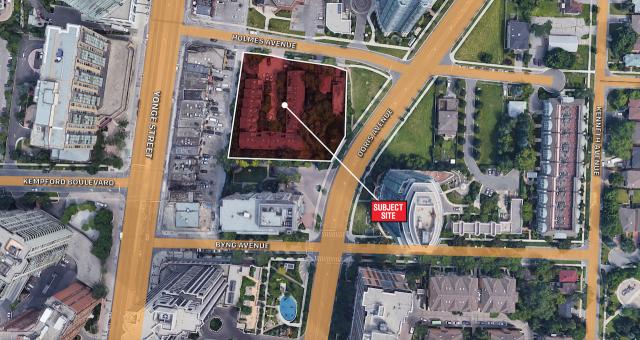15 Holmes Avenue Condos area