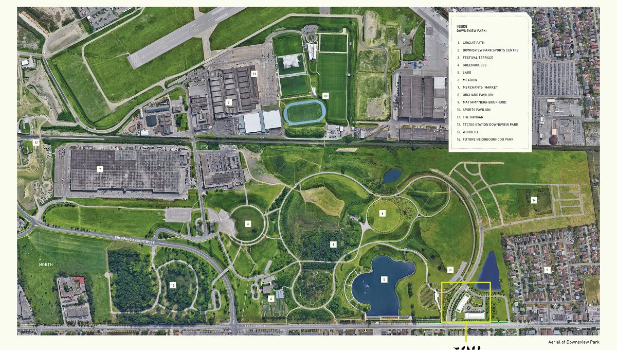 Saturday In Downsview Park Map