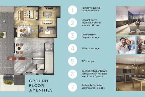 GROUND FLOOR AMENITIES