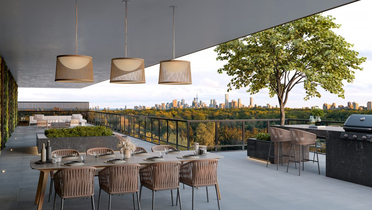 Bayview At The Village - Outdoor Terrace