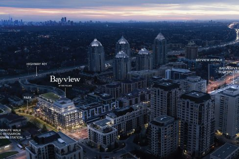 Bayview at The Village - Aerial