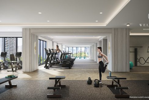 Copy of 8 Wellesley - State-of-the-art Fitness Centre