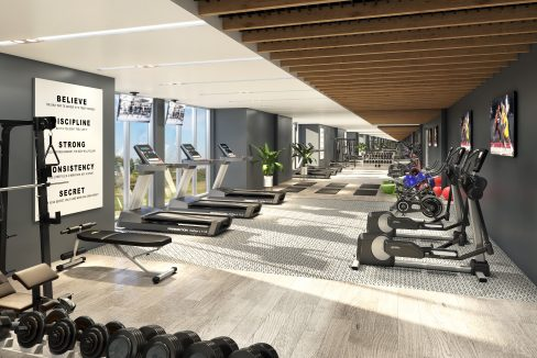 LakeVu Two Fitness Room