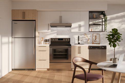 Light Upgraded Kitchen