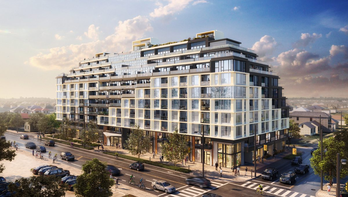 The Dylan Exterior Rendering