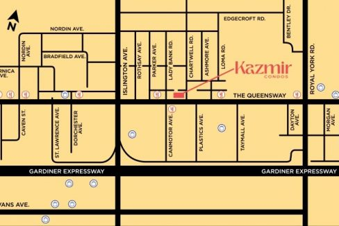 Kazmir-Condos-area-map