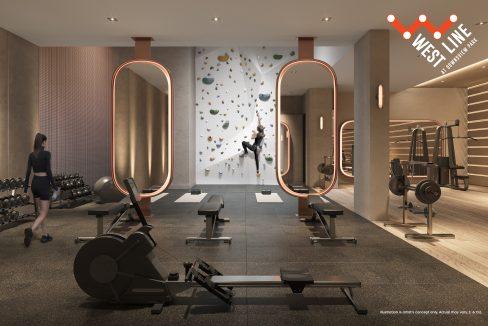 WestLine Condos - Fitness Centre