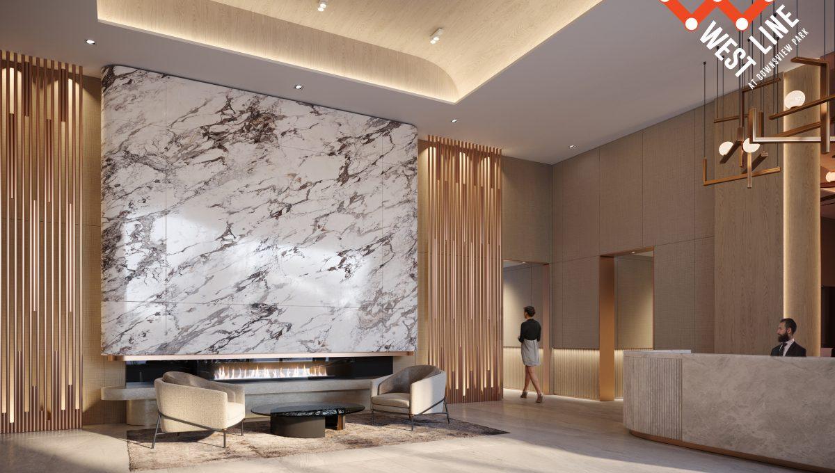 WestLine Condos - Lobby