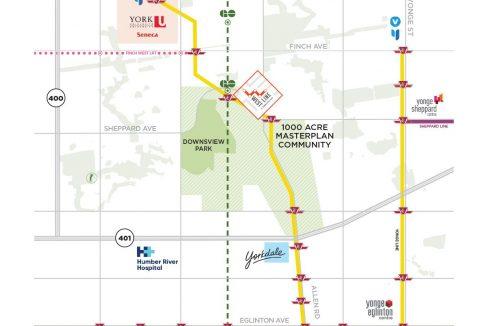WestLine Map