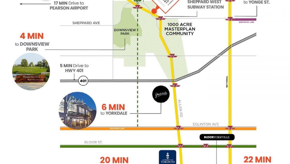 WestLine Transit Map