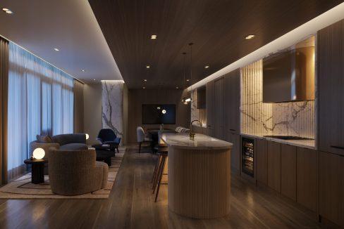 Stratus Private Dining Room
